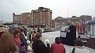 Пасхальный спекталь на улице 1 мая 2011