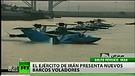 Irán presenta escuadrones de hidroaviones