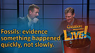 (6-12) Fossils: evidence something happened quickly, not slowly
